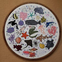 Advanced Embroidery, Plates, Tableware, Licence Plates, Dishes, Dinnerware, Griddles, Tablewares, Dish