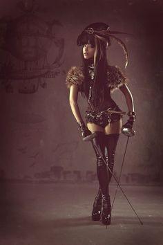 SteamPunk Girl : Photo