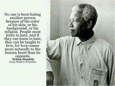 Message from Nelson Mandela