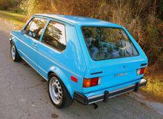 1977 Volkswagen Rabbit Rear