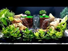 How to Make Triple Waterfall Fountain used plastic Bottles / DIY - YouTube