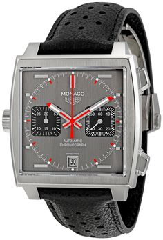 TAG Heuer Men's CAW211B.FC6241 Monaco Chronograph Watch, (watches, tag heuer, chronograph, carrera watch, chronograph watch, expensive watch, grand carrera automatic chronograph black dial watch, grand carrera watch, luxury watch, men s watch), via http://myamzn.heroku.com/go/B00603RQM6/TAG-Heuer-Mens-CAW211B-FC6241-Monaco-Chronograph-Watch