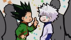 Gon and Killua ~ just being themselves haha
