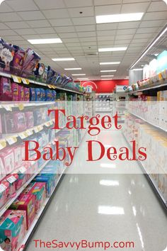 Calling all Target lovers! Here are some great baby deals you can score by pairing sales and gift card offers with lots of coupons!
