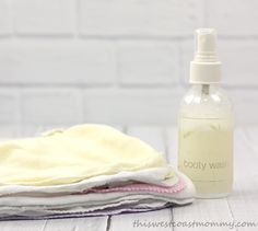 Spray homemade or store-bought solution on your wipes as needed