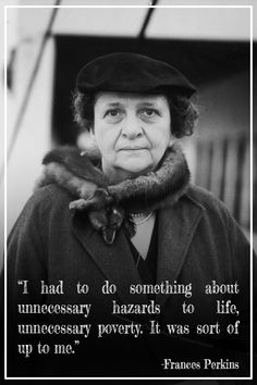Frances Perkins: The woman behind the New Deal