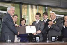 Humberto Cedraz recebe título de cidadão soteropolitano. | Lucas Souza Publicidade