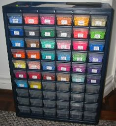 1801 best Bead storage and art sudios images on Pinterest Sewing