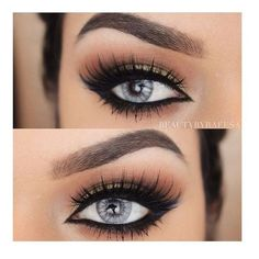Winged Eyeliner ❤ liked on Polyvore featuring beauty products, makeup, eye makeup, eyeliner, eyes and beauty
