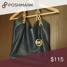 Michael Kors handbag in very good condition Navy Michael Kors bag. Used only once. Michael Kors Bags Shoulder Bags