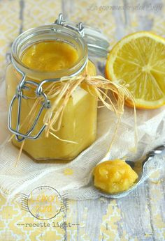 lemon curd light sans beurre 1