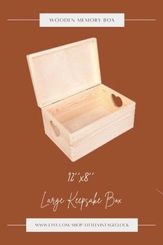 Are you worried about the constant chaos in your child's room? Can't you control it anymore? Buy him a tasteful and elegant chest as a gift, in which he will also hide all his treasures and the most valuable toys. #storageottoman,#ecofriendlyproduct,#woodencratebox,#woodenstoragecrate,#woodvanitybox,#customwoodenbox,#woodenbounfinished,#bigwoodenbox,#woodmemorybox,#largekeepsakebox,#12x8,#babymemorybox Wooden Storage Crates, Wooden Crate Boxes, Custom Wooden Boxes, Painted Wooden Boxes, Wooden Gifts For Her, Large Keepsake Box, Unfinished Wood Boxes, Wooden Box Designs, Wooden Memory Box