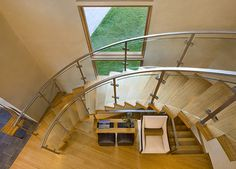 Getty Staircase - contemporary - staircase - denver - David Johnston Architects