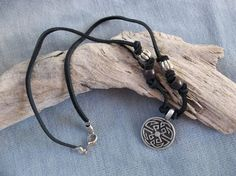 Large Celtic Knot Medallion in Silver Pewter by ShadowoftheCross, $22.00