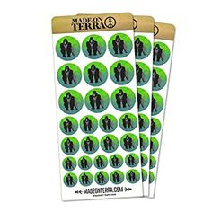 Amazon.com: Gorilla Removable Matte Sticker Sheets Set