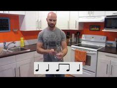 Stomp kitchen beat music tutorial