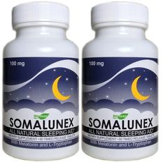 2 x SomaLunex Extra Strength Sleeping/Calming/Stress Relief Pills w/Melatonin, Chamomile, Valerian, & St Johns Wort – Timed Release Tablets: Stress Relief Gifts Stress Relief Gifts, Natural Sleep Aids, Sleeping Pills, Drugs, Health Care, Health Fitness, Calming, Strength