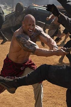 Dwayne Johnson as Hobbs in Fast and Furious presents Hobbs & Shaw
