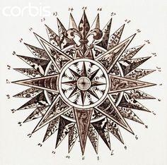 Resultado de imagem para old compass drawing