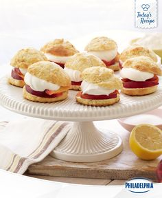Big flavour comes in small peach shortcake packages.