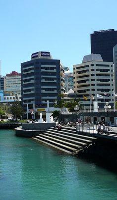 Wellington City Harbour, North Island, New Zealand
