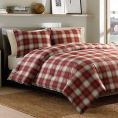Eddie Bauer Navigation 3-piece Plaid Cotton Comforter Set - Overstock Shopping - Great Deals on Eddie Bauer Comforter Sets