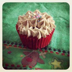Cupcakes de nuez y canela.
