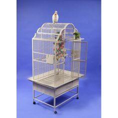 A&E Cage Co. Medium Victorian Top Floor Bird Cage