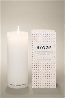 Scandinavian candle HYGGE, medium