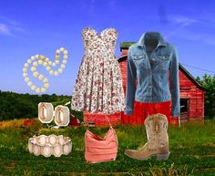 """""""Counrty chic"""" by barnsonsarianne on Polyvore"""