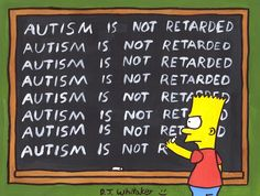 One of the biggest myths of Autism..spend a day with one of my children and you'll quickly learn they are proabbly smarter than you..;)
