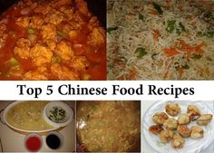 Top 5 Chinese Food Recipes Step by Step in Urdu | KFoods.com