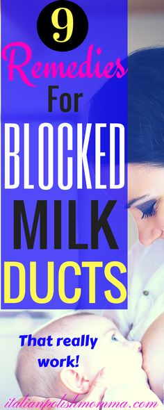 Are you experiencing an awful burning pain in your breast? Here are symptoms of a clogged milk duct and 9 remedies to treat your blocked milk duct naturally at home! These remedies really work! #cloggedmilkduct #blockedmilkduct #naturalremedies #breastfeedingtips #breastfeeding