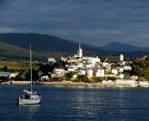 Vista de Castropol, Asturias.