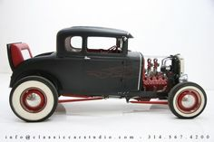 Automobile - 1930 Ford Model A Coupe.