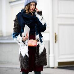 #мода #стиль #аксессуары #шуба #шарф #уличныйстиль #casual #fashion #streetstyle #mypositivestyles