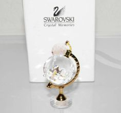 Swarovski Crystal Memories Globe Figurine Flawless w Original Box 199455 | eBay