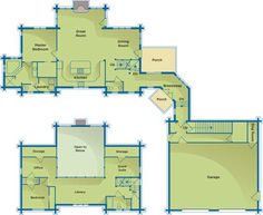 images about House plans on Pinterest   House plans  Monster    Woodsy Log Home Plans