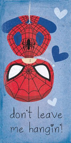 Spider-man Valentines Day Card Created and submitted by Tainted Sweets || Tumblr || Instagram