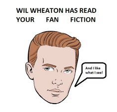 Twitter / RyanPMarkey: @wilw New t-shirt design for the Wil Wheaton fanclub!