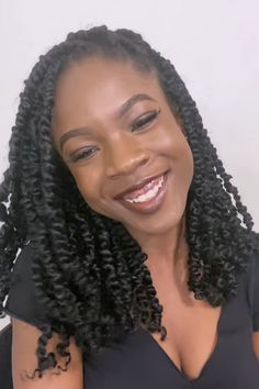PASSION TWIST TUTORIAL| LONGEST LASTING INSTALL TECHNIQUE Twist Hairstyles, Prom Hairstyles, Hairstyle Ideas, 4c Natural Hair, Natural Hair Styles, Braidless Crochet, 4c Hair, African American Hairstyles, Hair Videos