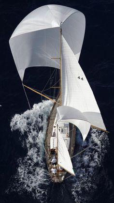 Wallpaper of Boat and yacht sailing at ocean sea Yacht Boat, Sail Away, Boat Design, Luxury Yachts, Wooden Boats, Tall Ships, Water Crafts, Sailing Ships, Sailing Yachts