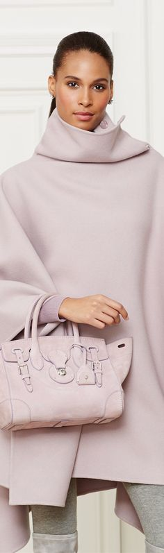 Ralph Lauren Suede Soft Ricky 27 LOOKandLOVEwithLOLO: Ralph Lauren Fall 2014 Accessories
