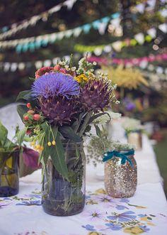 Intimate backyard wedding | photo by Brooke Courtney | 100 Layer Cake