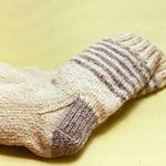 Fact: you can never have enough wool socks. This free pattern says it's easy to knit!