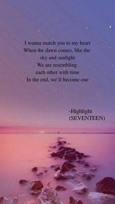 Highlight (Seventeen) lyrics wallpaper K Quotes, Song Lyric Quotes, Bts Lyric, Music Quotes, Qoute, Song Lyrics Wallpaper, Wallpaper Quotes, Seventeen Highlight, Seventeen Lyrics
