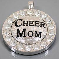 Check out the deal on Cheer Mom Pendant rhinstone at Spirit Accessories