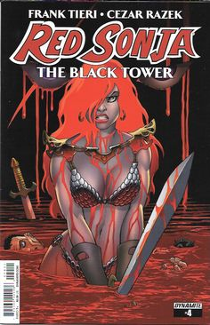 Red Sonja : The Black Tower # 4 Dynamite Entertainment                                                                                                                                                     More