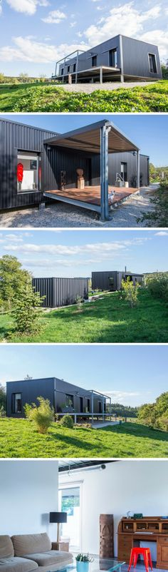 Container House - Diamant Shipping Container Home - Who Else Wants Simple Step-By-Step Plans To Design And Build A Container Home From Scratch?