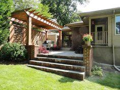 62 Best Lattice And Pergolas Images Outdoor Gardens